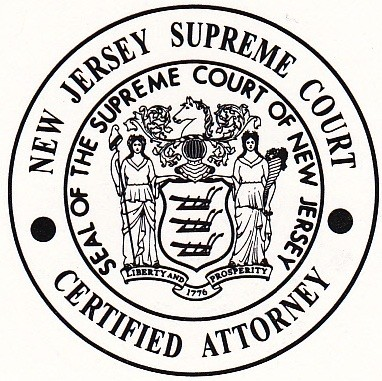 New Jersey Certified Criminal Trial Attorney